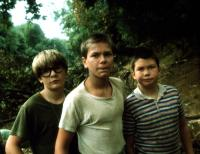STAND BY ME, Corey Feldman, River Phoenix, Jerry O'Connell, 1986