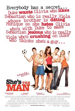 She's the Man - A Family Favourites Presentation
