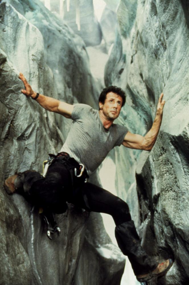 CLIFFHANGER, Sylvester Stallone, 1993