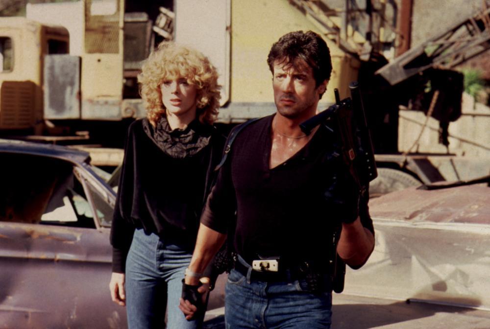 COBRA, Brigitte Nielsen,  Sylvester Stallone, 1986. (c) Warner Bros..