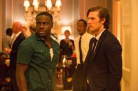 ENDLESS LOVE, from left: Dayo Okeniyi, Alex Pettyfer, 2014. ph: Quantrell D. Colbert/©Universal Pictures