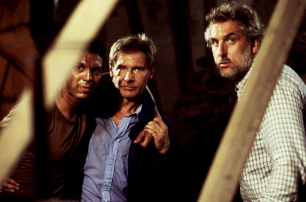 CLEAR AND PRESENT DANGER, Benjamin Bratt, Harrison Ford, Phillip Noyce, 1994, (c) Paramount