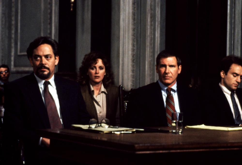 presumed innocent raoul julia bonnie bedelia harrison ford 1990 - Presumed Innocent Movie