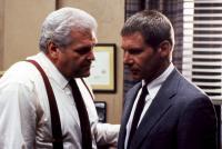PRESUMED INNOCENT, Brian Dennehy, Harrison Ford, 1990