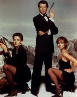 GOLDENEYE, Famke Janssen, Pierce Brosnan, Izabella Scorupco, 1995