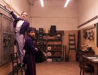 THE GRAND BUDAPEST HOTEL, from left: Ralph Fiennes, Tony Revolori, 2014.  TM and Copyright ©Fox Searchlight Pictures