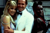 A VIEW TO A KILL, Tanya Roberts, Roger Moore, Grace Jones, 1985, (c) United Artists