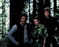 RETURN OF THE JEDI, 1983, Harrison Ford, Carrie Fisher, Mark Hamill