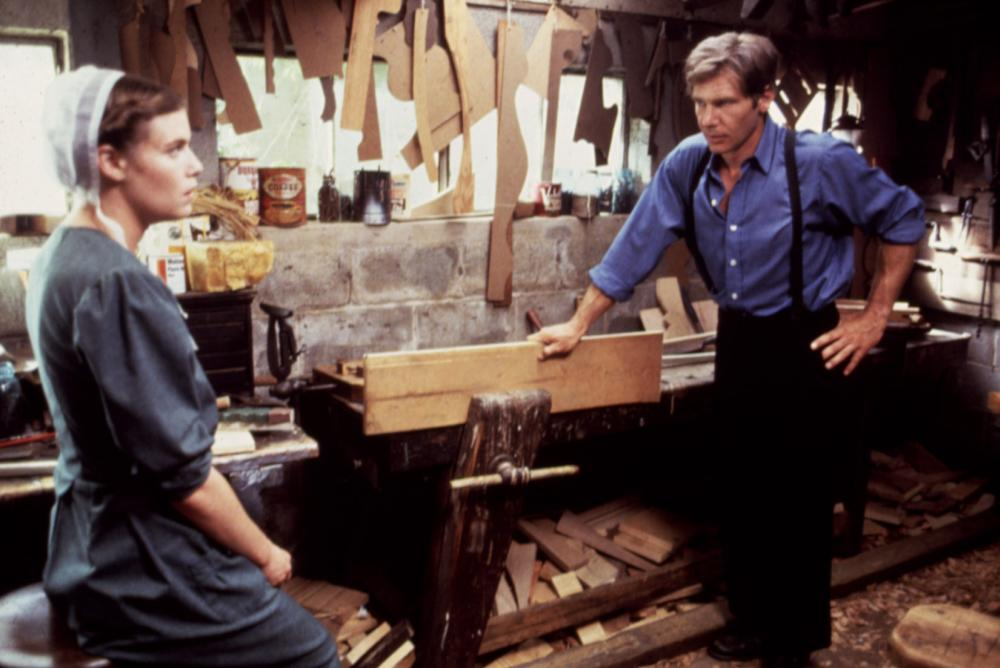 WITNESS, Kelly McGillis, Harrison Ford, 1985. (c) Paramount Pictures.