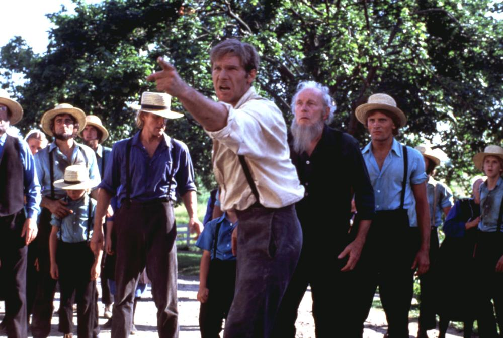 WITNESS, Alexander Godunov,  Harrison Ford, Viggo Mortensen, 1985. (c) Paramount Pictures.