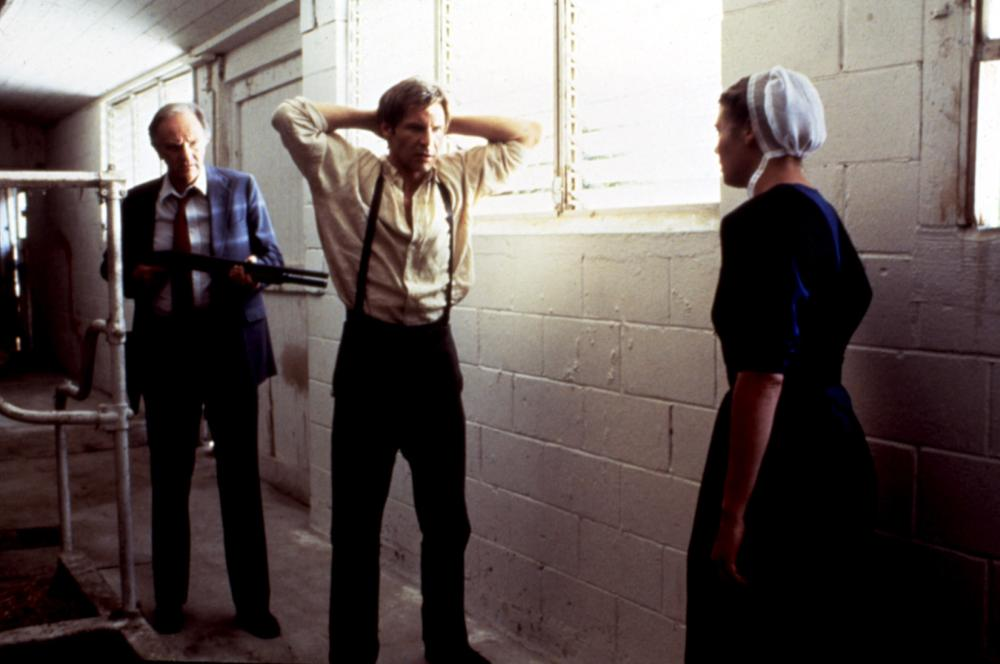 WITNESS, Josef Sommer, Harrison Ford, Kelly McGillis, 1985. (c) Paramount Pictures.