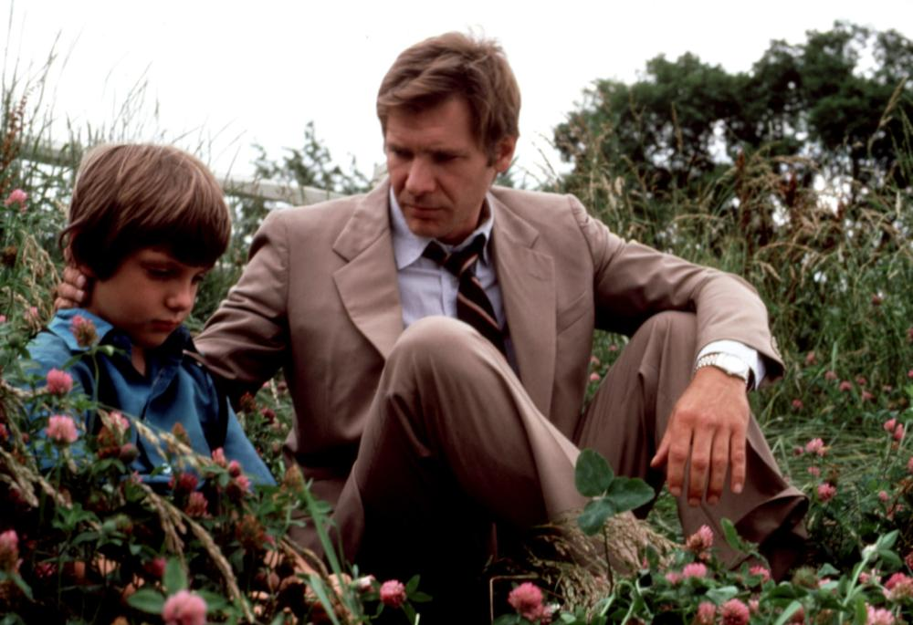 WITNESS, Lukas Haas, Harrison Ford, 1985. (c) Paramount Pictures.