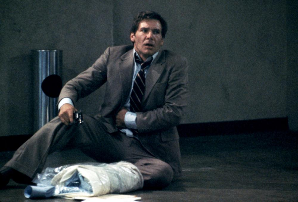 the film witness with harrison ford essay Harrison ford stars as john book, the police detective investigating the murder my favourite peter weir film, witness is something special.