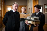 A PROMISE, from left: Alan Rickman, Maggie Steed, Richard Madden, 2013. ©IFC
