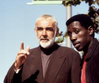RISING SUN, Sean Connery, Wesley Snipes, 1993. TM and Copyright (c) 20th Century Fox Film Corp. All rights reserved.