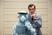 MUPPETS MOST WANTED, l-r: Sam the Eagle, Ty Burrell, 2014, ph: Jay Maidment/©Walt Disney Pictures