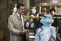 MUPPETS MOST WANTED, l-r: Ty Burrell, Sam the Eagle, 2014, ph: Jay Maidment/©Walt Disney Pictures