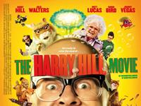 THE HARRY HILL MOVIE, British cinema, Harry Hill (front), Johnny Vegas (top left), Julie Walters (right of center), Simon Bird (top right), 2013. ©Entertainment Film Distributors