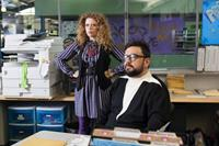 G.B.F., from left: Natasha Lyonne, Horatio Sanz, 2013. ph: Kate Romero/©Vertical Entertainment
