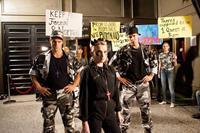 G.B.F., from left: Brock Harris, Evanna Lynch, Taylor Frey, 2013. ph: Kate Romero/©Vertical Entertainment