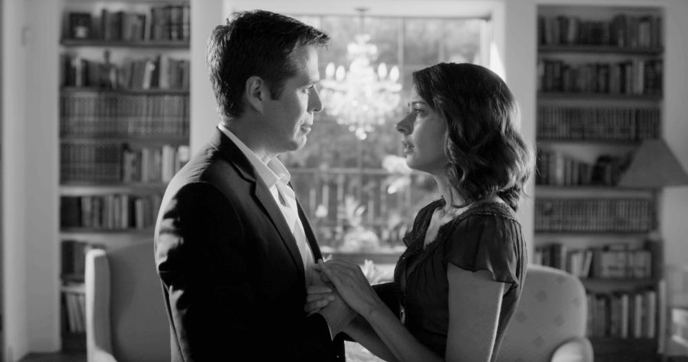 MUCH ADO ABOUT NOTHING, from left: Alexis Denisof, Amy Acker, 2012. ©Lionsgate