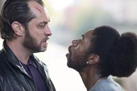 DOM HEMINGWAY, from left: Jude Law, Nathan Stewart-Jarrett, 2013. ph: Nick Wall/TM and ©copyright Fox Searchlight. All rights reserved.