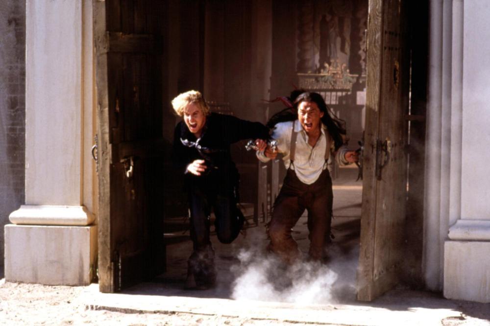SHANGHAI NOON, Owen Wilson, Jackie Chan, 2000. ©Buena Vista Pictures