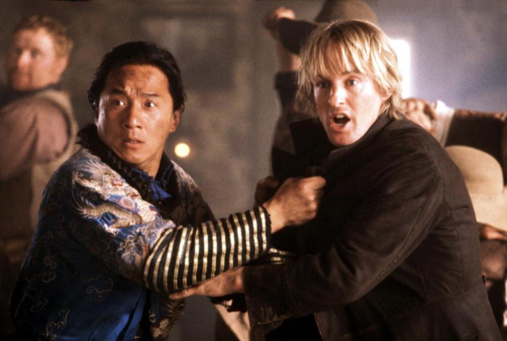 SHANGHAI NOON, Jackie Chan, Owen Wilson, 2000. ©Buena Vista Pictures