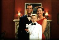 STUART LITTLE, Hugh Laurie, Stuart Little, Jonathan Lipnicki, Geena Davis, 1999, family portrait