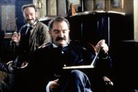 TOPSY-TURVY, Allan Corduner, Jim Broadbent, 1999, reading the play aloud