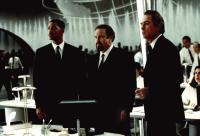 MEN IN BLACK, Will Smith, Rip Torn, Tommy Lee Jones, 1997, at headquarters