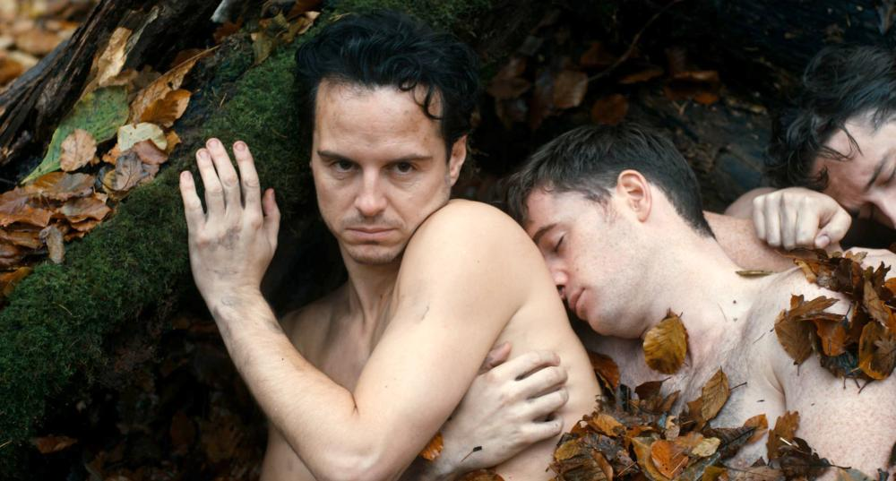 THE BACHELOR WEEKEND, (aka THE STAG), from left: Andrew Scott, Michael Legge, 2013. ©Arrow Film Distributors