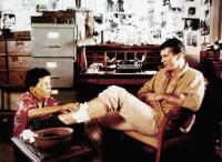 THE YEAR OF LIVING DANGEROUSLY, from left, Linda Hunt, Mel Gibson, 1982, ©MGM