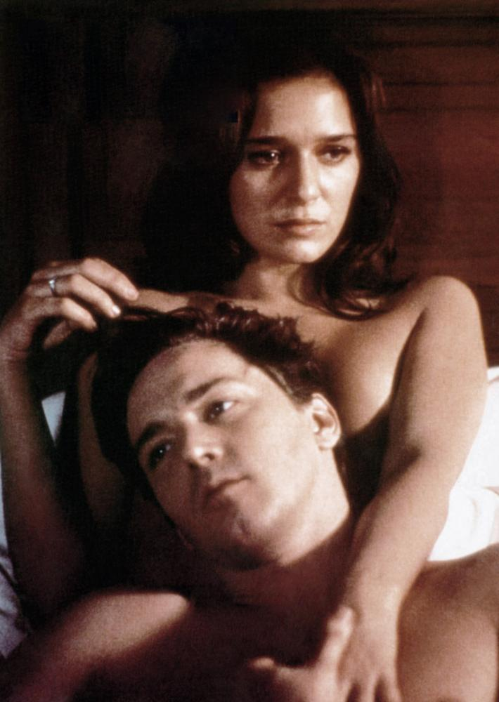 YEAR OF THE GUN, from top, Valeria Golino, Andrew McCarthy, 1991, ©Triumph Releasing Corporation