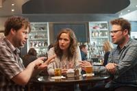 NEIGHBORS, from left: Ike Barinholtz, Rose Byrne, Seth Rogen, 2014. ph: Glen Wilson/©Universal Pictures