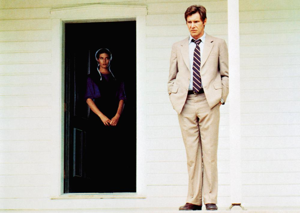 WITNESS, from left: Kelly McGillis, Harrison Ford, 1985, © Paramount