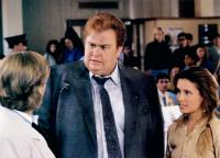 WHO'S HARRY CRUMB?, John Candy, (center), Shawnee Smith (right), 1989, ©TriStar