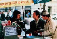 WHEN HARRY MET SALLY..., Bruno Kirby (left), Billy Crystal (center), 1989, © Columbia