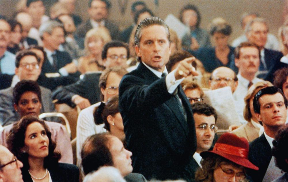 the film wall street ethics paper