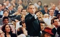 WALL STREET, Michael Douglas (standing),Saul Rubinek (head, right) 1987, TM & Copyright © 20th Century Fox Film Corp.