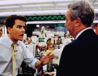 WALL STREET, from left: Charlie Sheen, James Karen, 1987, TM & Copyright © 20th Century Fox Film Corp.
