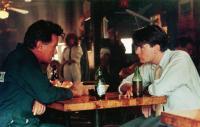 WALL STREET, from left: Martin Sheen, Charlie Sheen, 1987, TM & Copyright © 20th Century Fox Film Corp.