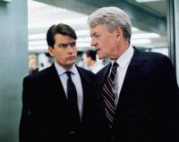 WALL STREET, from left, Charlie Sheen, Hal Holbrook, 1987, TM & Copyright ©20th Century Fox Film Corp.