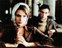 WAR AND LOVE, from left: Kyra Sedgwick, Sebastian Keneas, 1985, © Cannon Films