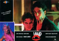VAMP, Grace Jones (left corner), Chris Makepeace (right), 1986, (c) New World Releasing