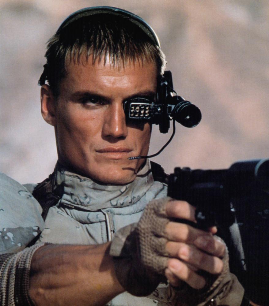 UNIVERSAL SOLDIER, Dolph Lundgren, 1992, ©Universal