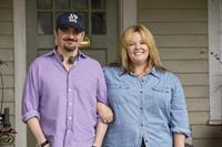 TAMMY, from left: director Ben Falcone, Melissa McCarthy, on set, 2014. ph: Michael Tackett/©Warner Bros.