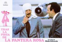 TRAIL OF THE PINK PANTHER, (aka TRAS LA PISTA DE LA PANTERA ROSA), Pink Panther (left), center from left: Peter Sellers, Colin blakely, 1982, © United Artists