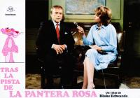 TRAIL OF THE PINK PANTHER, (aka TRAS LA PISTA DE LA PANTERA ROSA), Pink Panther (left), center from left: Herbert Lom, Joanna Lumley, 1982, © United Artists