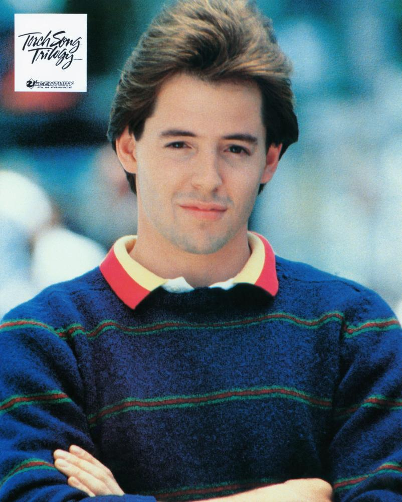 TORCH SONG TRILOGY, Matthew Broderick, 1988, (c) New Line